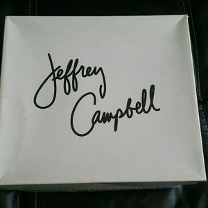 Jeffrey Campbell black mules